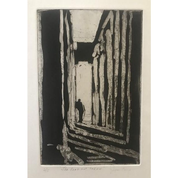 20th Century Original Signed Letterpress Print on Archival Paper by Joan Corrigan For Sale - Image 10 of 10