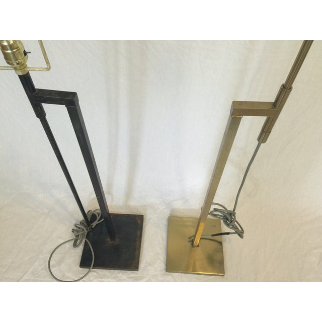 Vintage Laurel Adjustable Floor Lamps - A Pair - Image 5 of 11