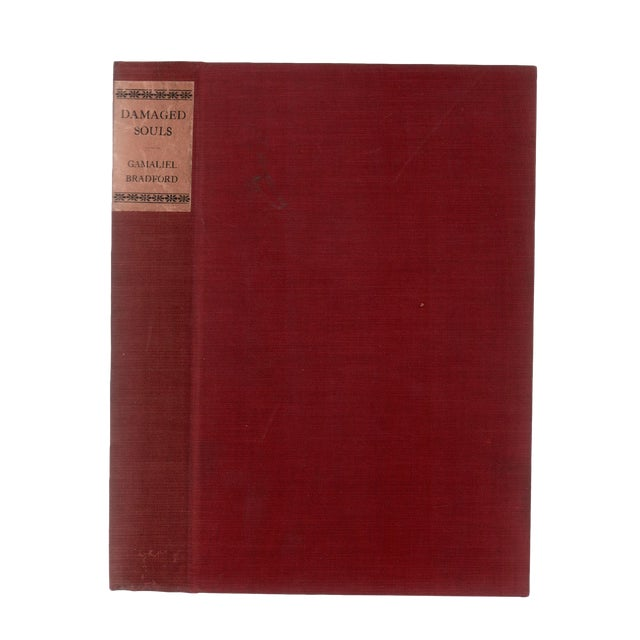 "1923 ""Signed Limited First Edition, Damaged Souls"" Collectible Book For Sale"