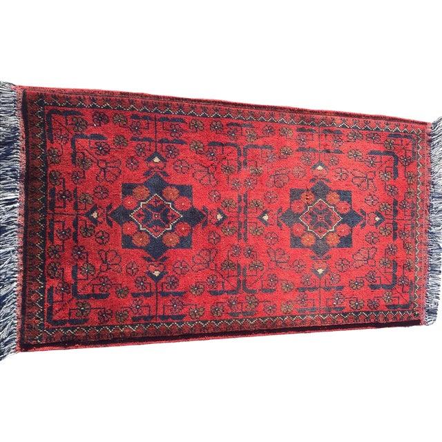 Turkaman Persian Rug - 1′10″ × 3′7″ - Image 1 of 9