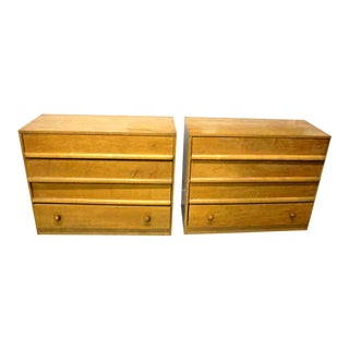 Robsjohn Gibbings Widdicomb Dressers - A Pair For Sale