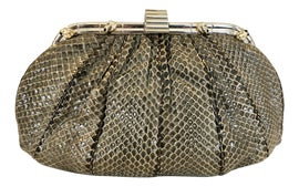 Image of Silver Evening Bags and Clutches