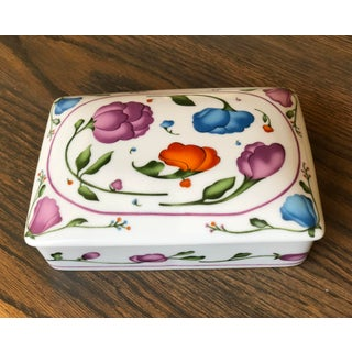 Vintage Horchow Ceramic Lidded Box Preview