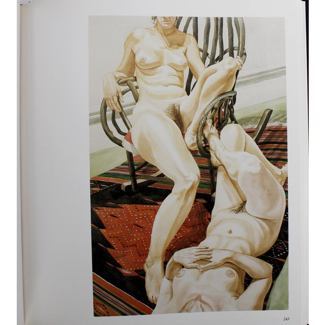 Tan Philip Pearlstein: The Complete Paintings, First Edition For Sale - Image 8 of 11