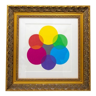 Color Wheel Painting For Sale