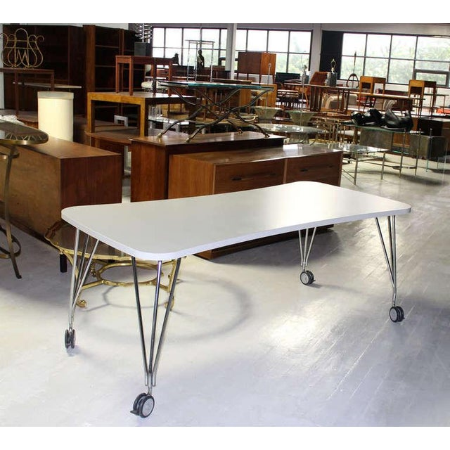1990s Vintage Medium Kartel Max Dining or Conference Table For Sale - Image 10 of 11
