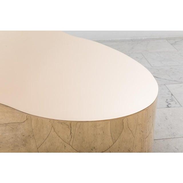 """Karl Springer LTD, Bronze Free Form Low Table """"C"""", USA, 2016 For Sale - Image 10 of 13"""