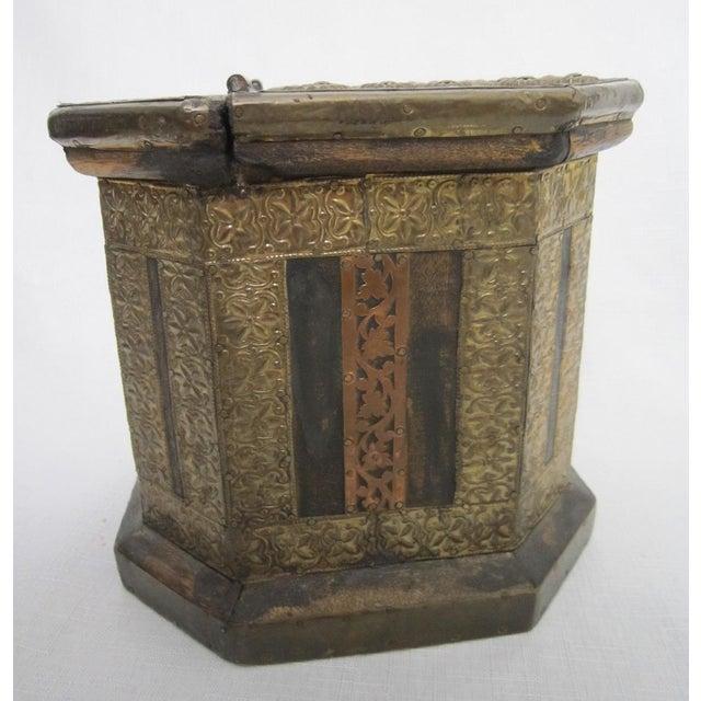 Vintage Boho Indian Wood Box - Image 7 of 7