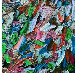 """""""The First Time"""" Contemporary Abstract Expressionist Oil Painting by Monica Shulman For Sale"""