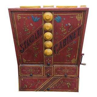 Vintage Chuck Wagon Cabinet For Sale