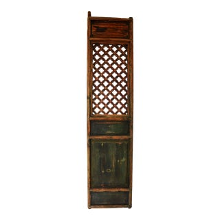 Antique Chinese Rustic Panel Door For Sale