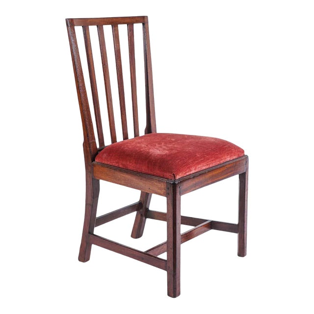 1790 Federal Mahogany Side Chair For Sale