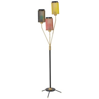 Scandinavian Mid-Century Floor Lamp For Sale