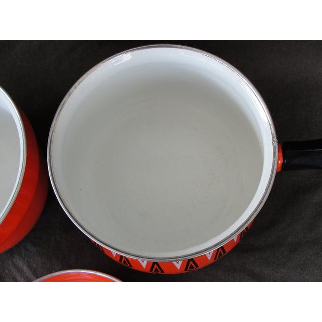 Cathrineholm Style Enameled Double Boiler - Image 6 of 8