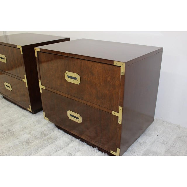 Mid Century Modern end tables/nightstands - a Pair - Image 3 of 11