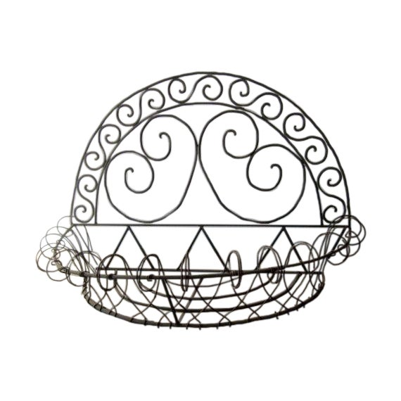 Ornate Filagree Plant Flower Planter - Image 1 of 6