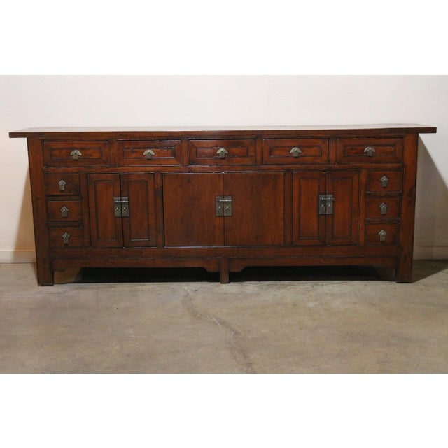 Brown Late 19th Century Walnut Sideboard For Sale - Image 8 of 8
