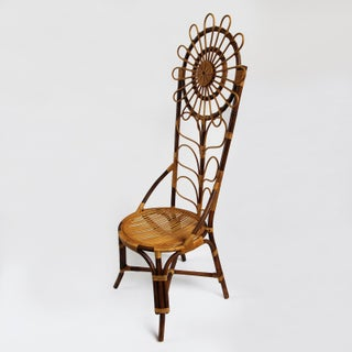 Tall Bamboo Sun Flower Chair Preview