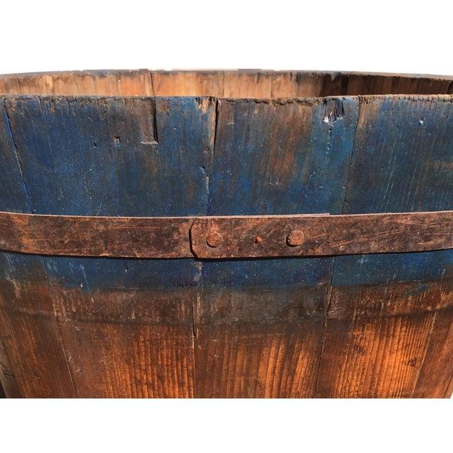Vintage French Vineyard Barrels For Sale - Image 4 of 10