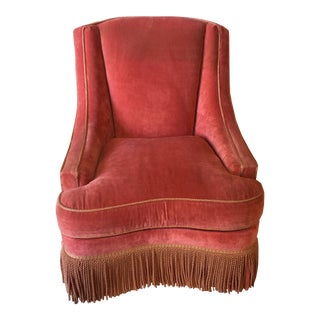 Councill Craftsmen Red Chair For Sale