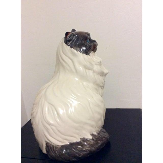 Antique Porcelain Cat - Image 4 of 9