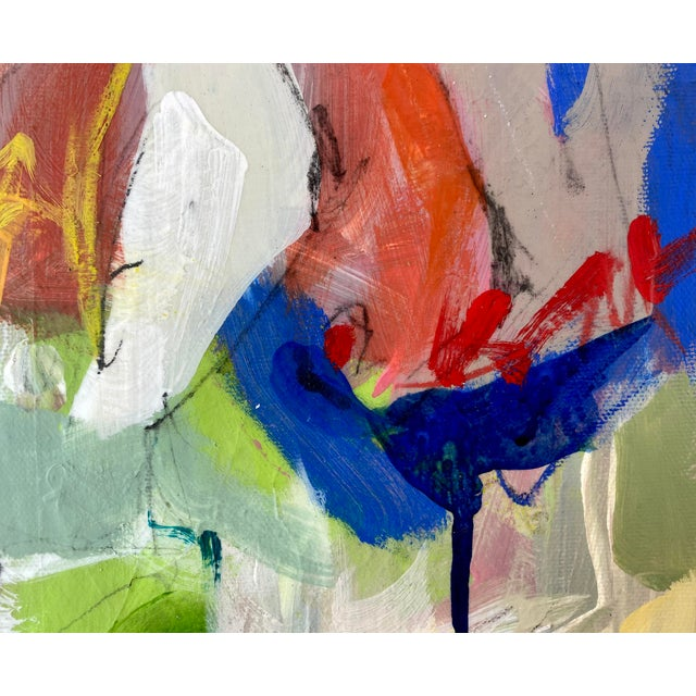"""Around the World and Back"" by Gina Cochran Original Abstract Painting For Sale In Washington DC - Image 6 of 13"