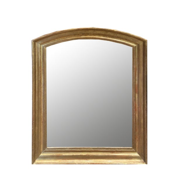 Gold Early 19th Century Giltwood Louis Philippe Mirror For Sale - Image 8 of 8