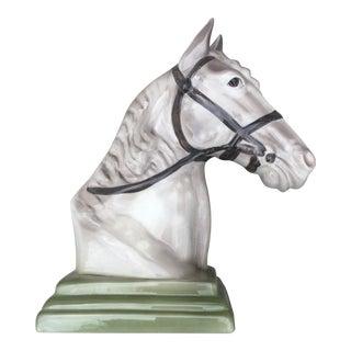 Large Goldscheider Ceramics Horse Bust