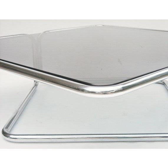 Mid Century Coffee Table Chrome Jerry Johnson - Image 2 of 5