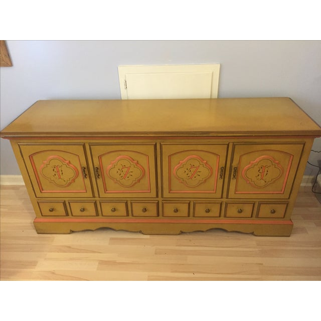 Yellow Drexel American Review Dresser For Sale - Image 8 of 10