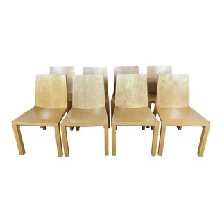 Library Side Chairs by Dakota Jackson- Set of 8 For Sale