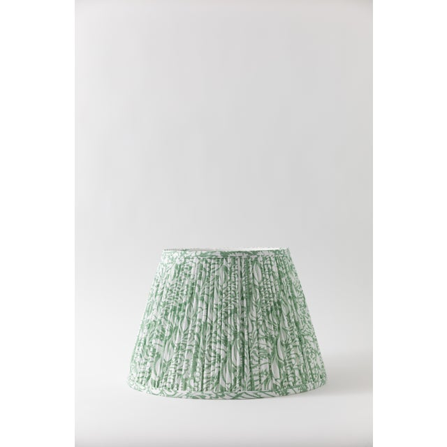 "Fern in Moss 10"" Lamp Shade, Green For Sale In Miami - Image 6 of 6"
