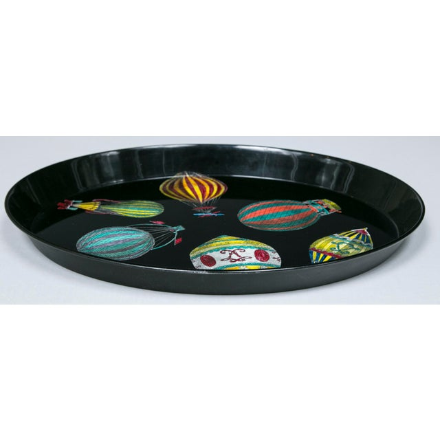 Piero Fornasetti Hot Air Balloon Tray For Sale - Image 5 of 8