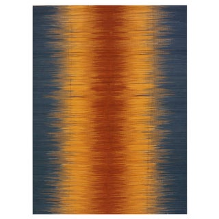 New Indian Kilim - 10′1″ × 13′11″ For Sale