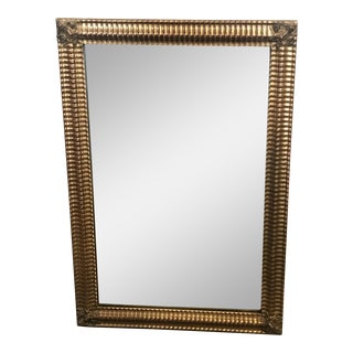 19th Century French Gold Water Gilded Mirror For Sale