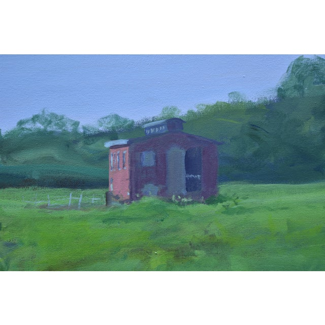 """2010s """"Ruts in the Field to the Chicken Coop"""" Painting For Sale - Image 5 of 12"""