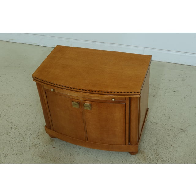 Item: F50300EC: HICKORY WHITE Satinwood Genesis Collection Nightstand Age: Approx: 20 Years Old Details: High Quality...
