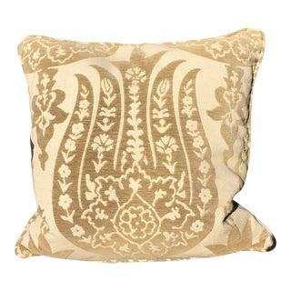 Pair of Schumacher Izmir Chenille Pillows For Sale
