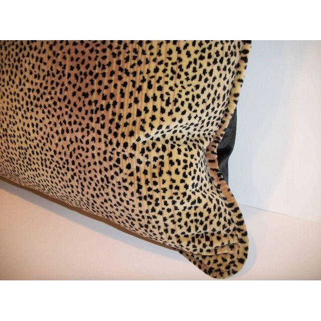 Kravet Baby Cheetah Velvet Pillows - A Pair - Image 3 of 4