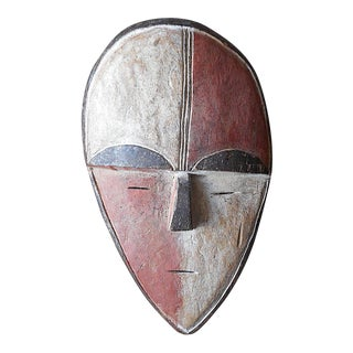 Vintage Vuvi African Tribal Mask For Sale