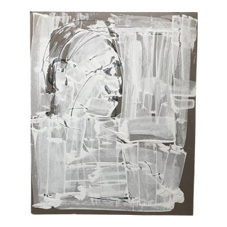 1970s Abstract Portrait by Mark Luca For Sale