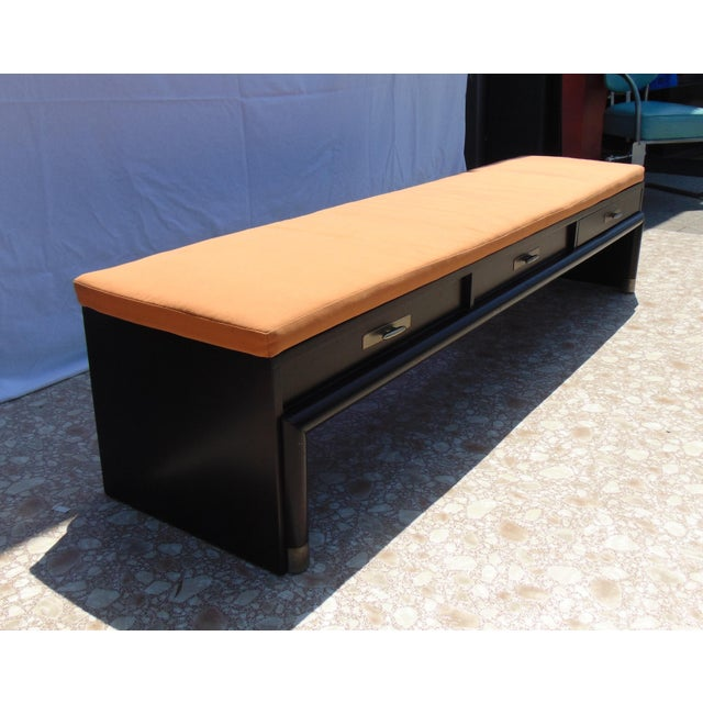 3-Drawer Coffee Table/Bench With Cushion - Image 5 of 11