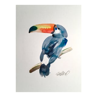 Toucan Original Watercolor Painting