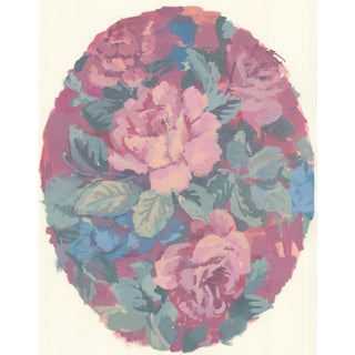 Floral Painting Wall Art Print by Michelle Farro For Sale