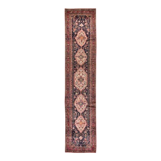 """Early 20th Century Vintage Persian Rug, 3'3"""" X 15'4"""" For Sale"""