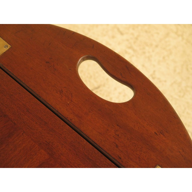 Kittinger Chippendale Mahogany Butler Coffee Table - Image 9 of 11