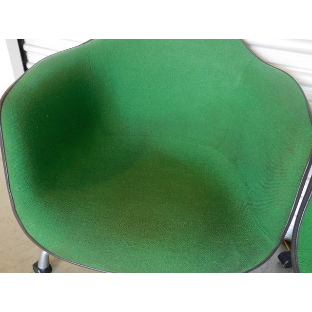 1979 Herman Miller Green Office Chairs - Pair - Image 11 of 11