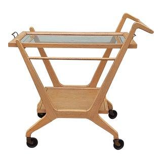 Cesare Lacca Style Mid-Century Bar Cart