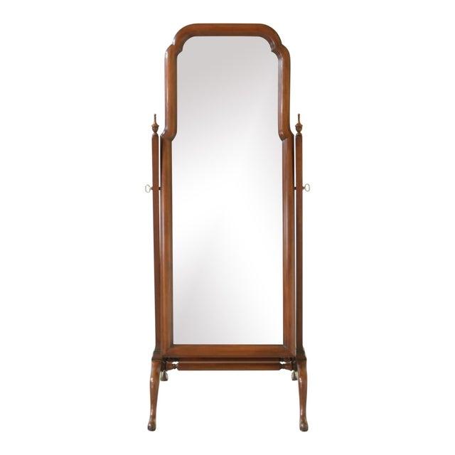 Wood Henkel Harris Cherry Cheval Dressing Mirror For Sale - Image 7 of 7
