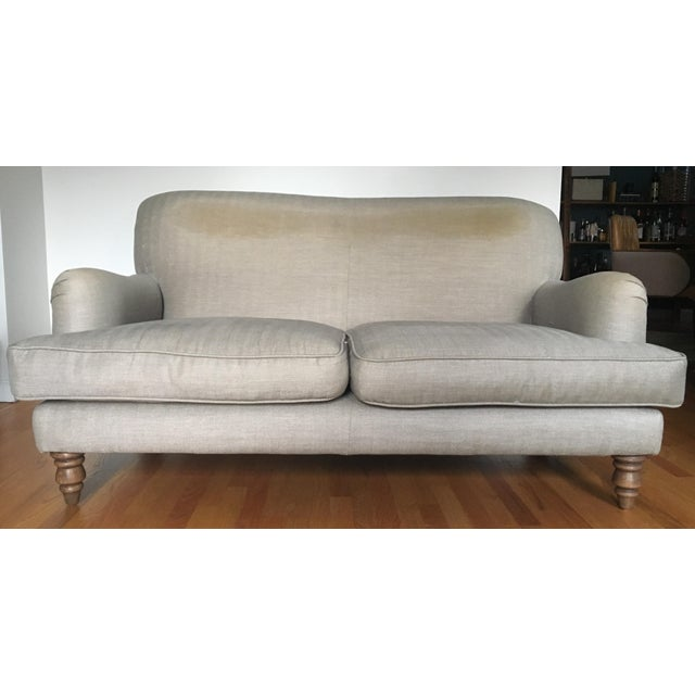 English Roll Arm Sofa For Sale - Image 13 of 13